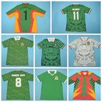 1986 1994 1994 1998 فيناتج المكسيك ريترو لكرة القدم جيرسي 11 بلانكو 15 هيرنانديز 8 جارسيا أسب 10 لويس جارسيا كامبوس راميريز لكرة القدم
