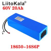 LiitoKala 18650 16S 60V 30Ah 20Ah 25Ah 15Ah Lithium-Ionen-Akku 60V elektrische Fahrrad-Batterie mit BMS XT60 XT90