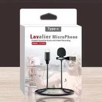 Type C1.5m Mini 3,5 mm Microphone Portable Jack Lavalier Microphone Mini pince à cravate Audio Micro pour ordinateur portable Téléphone