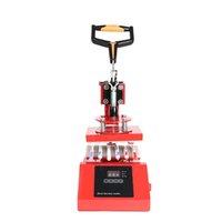 6 في 1 القلم الصحافة الحرارة تسام آلة مخصصة حرارة إنتقالات نقل DIY طباعة الشعار الحرارة الصحافة القلم الطابعة