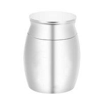 Elite Алюминиевый сплав Silver Кремация Урна для / Pet Ashes человека - Взрослый Похороны Урна Handcrafted - Большой Урна Deal