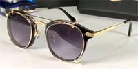 En iyi adamlar tasarım güneş gözlüğü, çıkarılabilir çift katmanlı lens ile yeni tasarım, yuvarlak tam çerçeve, üst seviye katında açık gözlükler