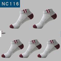 Thin Mesh ventilazione calze da uomo di sport calzino corto tubo di estate calza colore solido molti stili Semplicità 1 48bb D2