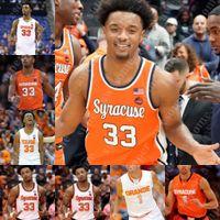 Benutzerdefinierte Syrakuse Orange Basketball Jersey Elijah Hughes Buddy Boeheheim Joseph Girard III Marek Dolezaj Quincy Guerrier Bourama Sidibe Anthony
