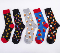 New for 2020 Big Size Cartoon Men' s Socks Cotton with B...