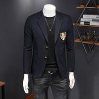 vestiti di autunno uomo di charme 2020 marchio di tendenza piccoli abiti nuovi uomini vestiti casuali di tendenza di moda casual vestiti Shanxi