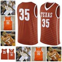 Custom Texas Longhorns College Baloncesto 4 Mohamed Bamba 1 Andrew Jones 21 Osetkowski 35 Kevin Durant 14 Augustin Lamarcus Aldridge Jersey