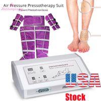 Equipo de belleza vendedora caliente de la Presoterapia Drenaje Linfático Máquina masaje del cuerpo de desintoxicación peso eliminado Sauna Manta de EE.UU.