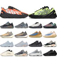 Chaussures de course pour hommes, femmes V3 Alva Azaël 380 Bleu Avoine Reflective Mist chaussures de sport Orange sports Volt formateurs