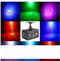 Neue Hochzeits-Fernbedienung Galaxy RGB LED Mixed 8 Gobos RG Laser-Beleuchtung Bühnen DJ Party Professionelle 110V-240V EU US UK AU Stecker