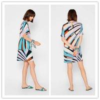 Frauen 2020 epucci Mode hell-farbige und elastisches Gest dünner Seidenjersey Kleid Hülse schön Short neues