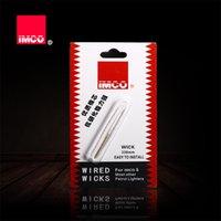 330mm original imco coton câblé de coton mèche pour essence essence allume de remplacement distributeur de distributeur de remplaçants feutriers tiers authentique