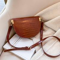 Стильные пакеты сумки на плечо для модных повседневных женщин крокодил сумка мессенджера простая сумка мода новая кожа дикая болса Феминина AECFN