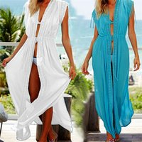 Cotton Beach Cover up Kaftans Sarong Bathing Suit Cover ups ...