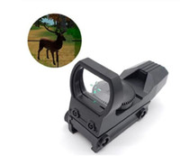 20mm Rail Scope Hunting Optics Holográfico Rojo Verde Dot Vista Reflejo 4 Reticle Táctico Riflescope Colimador Vistas Plastic Toy