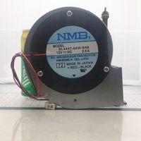 Para NMB BL4447-04W-B49 11028 12V 2A 2Wire turbina de marco de metal centrífuga del ventilador del soplador