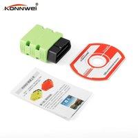 Strumenti diagnostici Konnwei KW902 ELM327 Bluetooth OBD2 Auto Scanner Scanner Detector Tool Reader OBDII Interfaccia automatica