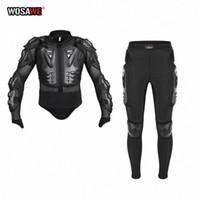 WOSAWE Motorcycle Armadura Jacket proteção cheia do corpo Jacket Motocross Downhill Corrida Voltar Protector Pants Hip Guarda atender H1dd #
