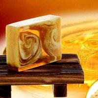 ناتشرال كير اليدوية العسل صابون البروبوليس والعسل الحليب صابون الوجه ربلنيشينغ تبييض البشرة الجمال تبييض التنظيف العميق الصابون