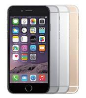Original da Apple iPhone 6 Com Fingerprint 128GB / 64GB / 16GB de 4,7 polegadas A8 IOS 12 Recuperado Desbloqueado Mobile Phone