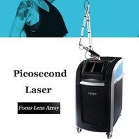FDA Onaylı Picosecond Makinesi Pico Lazer Dövme Mürekkep Kaş Spot Pigmentler Melasma Temizleme Orijinal 755nm Odaklı Lens Cynure Lazer