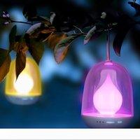 Многоцветные светодиодные лампы ночь, Пламя свечи Портативный таймер Дети Night Light с Теплый белый 256 Красочный свет, USB перезаряжаемые для младенца