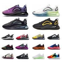 Nike air max 720 designer uomo scarpe da corsa 200 Bordeaux Desert Sand Mystic Green triple Nero Royal Pulse sneakers uomo atletiche sportive all'aperto