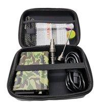 Quartz Dnails kits Electricon cigarette dab PID-Temperatursteuerkasten 14mm 18mm 20mm männlichen Quarz Nägel Spule Wärme für rig Öl Hüttenglasbong