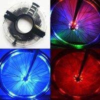 LED велосипедов спиц Fronail задних колес огни хаб Водонепроницаемый езда Предупреждение Лампа MTB велосипед Велоспорт Ночные безопасности Украшение Acces