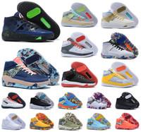 New Men 2020 Дюрант XIII KD 13 13S Multi-Color KD13 Тренеры WHITE Увеличить Баскетбольная обувь Elite Sport Кроссовки 40-46