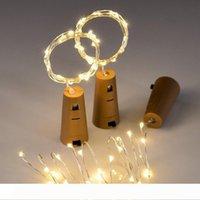 Cam Craft Şişe Peri Sevgililer Düğün Dekorasyon Lambası Partisi Şişe Stopper ile 2m 20-LED Bakır Tel String Işık