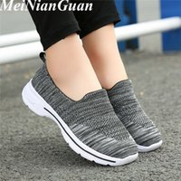 Low Top Running Shoes for Women Slip on Lightweight Summer Sneakers Plus Size Women's Sports Shoes 2020 Platform Womens Shoe X5