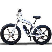 Пользовательские Ebike 26inch Жир шин 500W 48V литий-ионный снег электрический горный велосипед Гидравлический дисковый тормоз Передняя вилка шок максимальная скорость 35