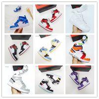 2020 1JAM Basketbol Ayakkabı Yüksek OG 1 S Reçel Sneakers Açık Spor Gençlik Çocuklar Jacks 1 S Çocuklar 1 S Sneaker Spor Trainer