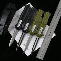 벤치 메이드 BM 3300 제 3310 제 3310 자동 칼 앞쪽 더블 액션 자동 D2 스피어 포인트 일반 전술 EDC 생존 나이프 3310BK 도구