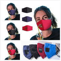 Moda Yüz Delik Tasarımı Ayarlanabilir Yıkanabilir Yeniden kullanılabilir Koruyucu Maskeler Toz geçirmez Windproof Bisiklet Pamuk Maske ile Straw Maske