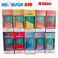 Hot MR VAPOR AIR Einwegvorrichtung Pod Starter Kit 350mAh Batterie 3 ml Patrone Pods 500 Puff Vape Pen VS Xtra Flow Plus BIDI Stick Pro Kits