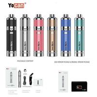 Starter Kits Fabricante Yocan Evolve Plus XL frasco de silicona capacidad de la batería 1400mAh original Yocan Evolve D Plus Cera Dab Pen