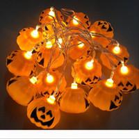 할로윈 라이트 (16) LED 250 만 홈 바 파티 장식 호박 다채로운 LED 문자열 빛 요정 축제 램프 해골 랜턴 램프를 점등