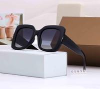 2020 новый Luxury- Женские солнцезащитные очки и солнцезащитные очки Vintage солнцезащитные очки Мода марка для женщины стекла Прямоугольник Вождение UV400 пространственного положения с