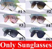 NEW Vintage Круглые солнечные очки рамки металла Очки 1993 объектива кошачий глаз полосы очки Бесплатная доставка 6 цветов 5шт Черный Розовый объектив Быстрый корабль