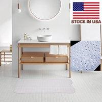 Acessórios de limpeza de estofados Tapete de designer conveniente 99 * 39cm banheiro banheiro antiderrapante