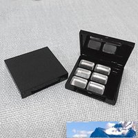 6 사각형 격자 아이 섀도우 립스틱 파우더 상자 케이스 화장품 포장 + 6PCS 팔레트 빠른 배송 F314 비우기