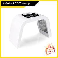고품질 4 색 PDT LED Photon 치료 마스크 여드름 치료 피부 회춘 광자 PDT 장치