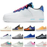 nike air force 1 shadow forces one af1 Travis Scott reagieren airforce  Schatten Laufschuhe Skeleton Grau Nebel Kaktus Jack Damen Herren Trainer ourdoor Sport Turnschuhe Plattform
