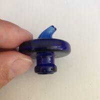 33mm UFO 모양 흡연 파이프 액세서리 카브 캡 / Pyrex 커버 Vibes에서 쿼츠 Banger 유리 봉수