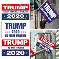 Donald Trump 2020 Drapeau 90 * 150cm Keep America Great Banners Président USA Digital Print Sea Flag Expédition Slogan DDA203
