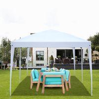 Facile à installer Tente Portable Pergola Pergola Pique-nique Outdoor Barbecue Barbecue Party Tentes Dual-Usage Étanche à l'eau