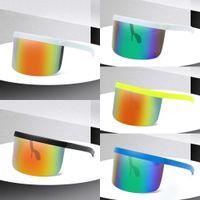 ABD Stok Çocuk Açık Güneş Yaz Bisiklet Gözlük Gözlük Anti-UV Polarize MTB Gözlük Anti-gözetleme Karşıtı köpük Koruma FY2297