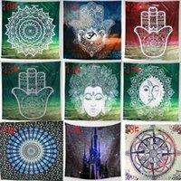 31 diseños colgar de la pared Tapices de Bohemia Mandala elefante toalla de playa Mantón Yoga Mat paño de tabla del poliester Tapices Decoración